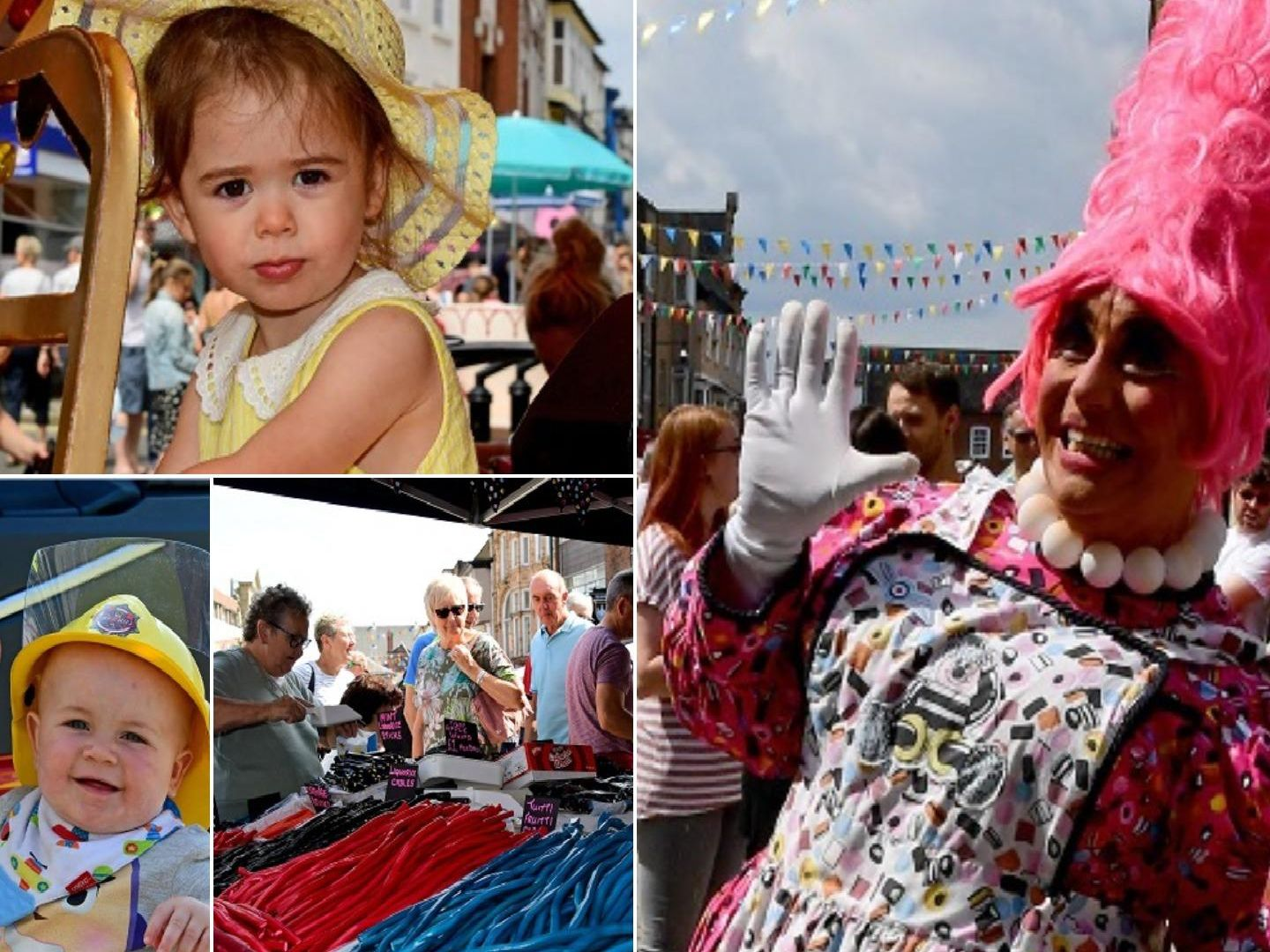 All the fun at Pontefract Liquorice Festival 2019.