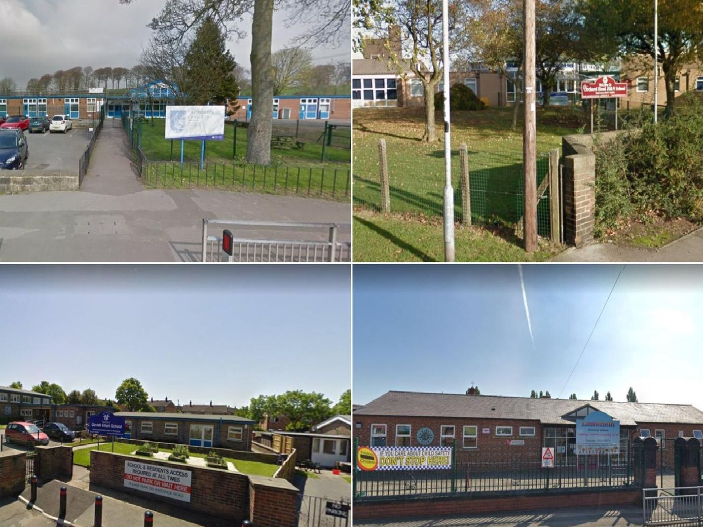 These are the Ofsted reports for the Wakefield schools investigated so far this year.