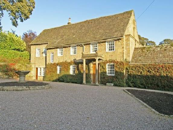 The property is on Church Street in Ashover.