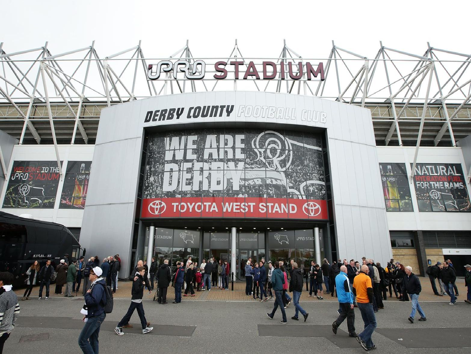 Derby County's Pride Park