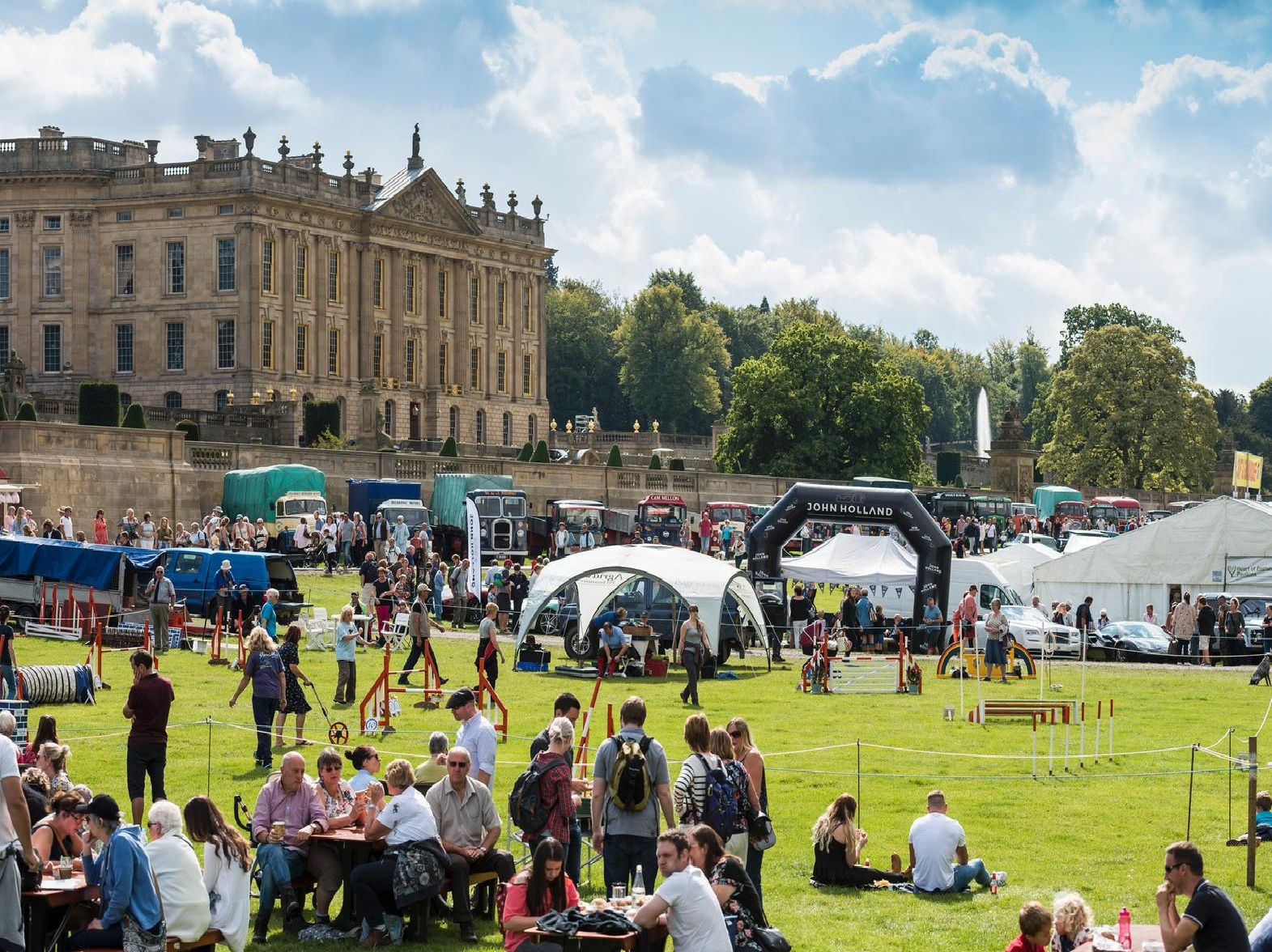 Chatsworth Country Fair will begin on August 30 this year.