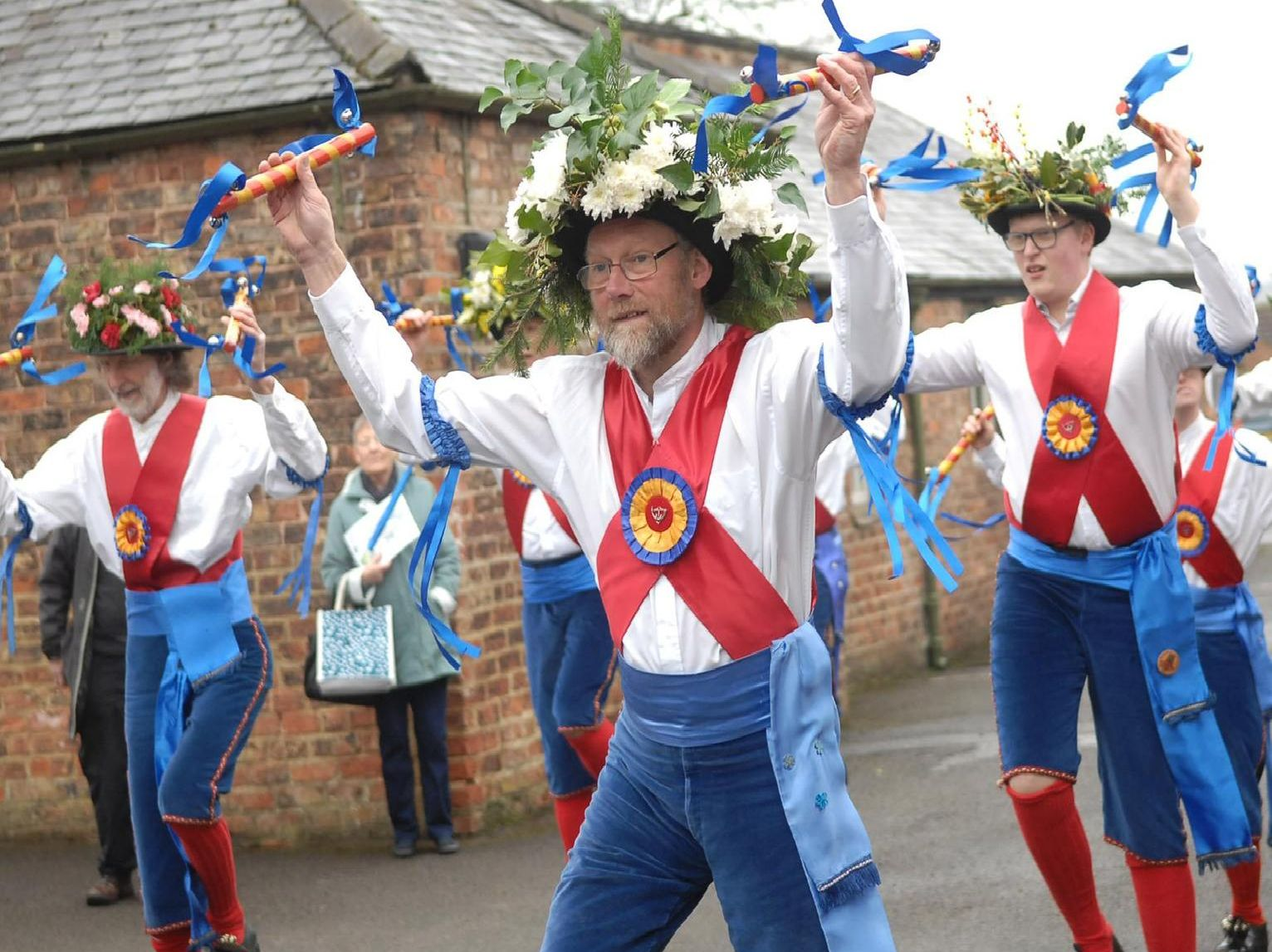 The Ripon City Morris Dancers will be performing at venues across the city on the day.