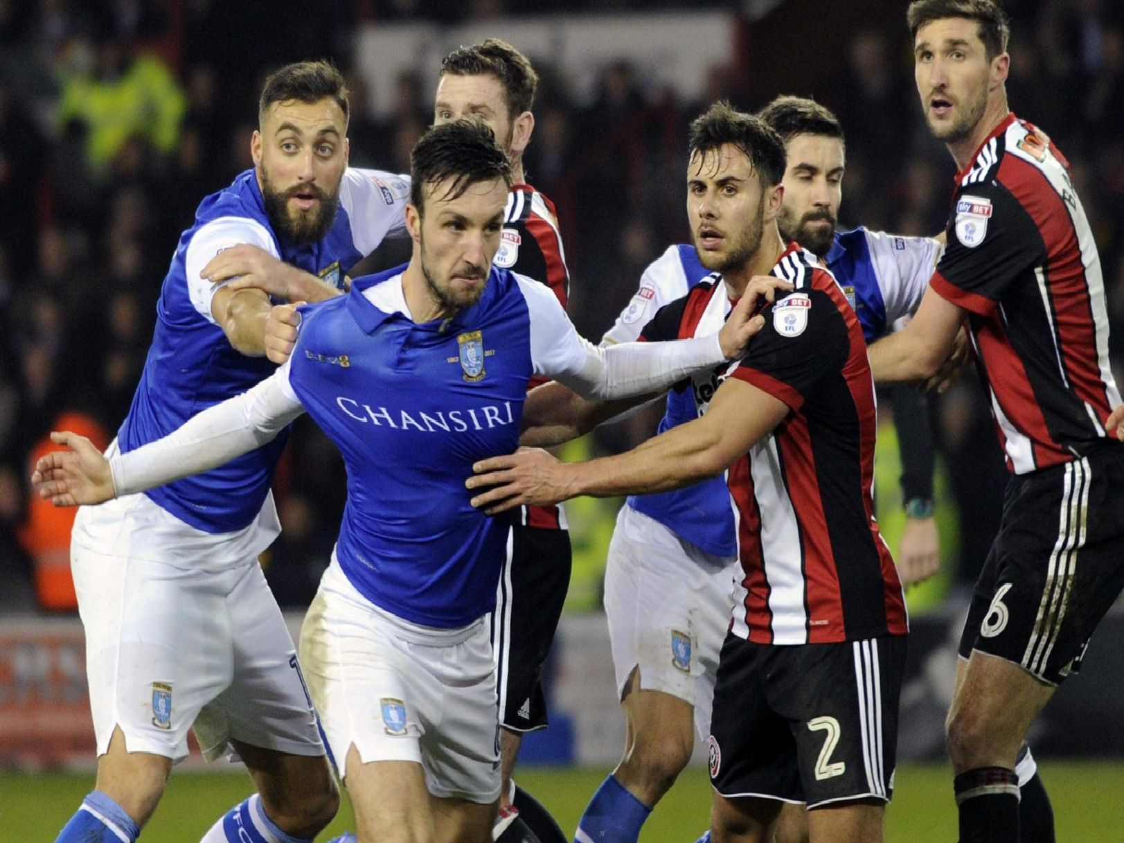 The second Steel City Derby installment takes place on March 2 when Sheffield Wednesday face Sheffield United at Hillsborough.