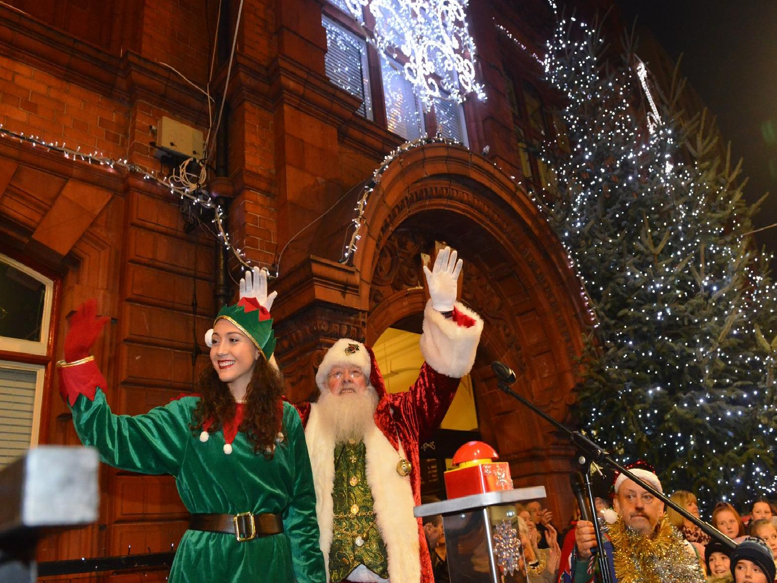 The countdown to Christmas is officially underway in Jarrow