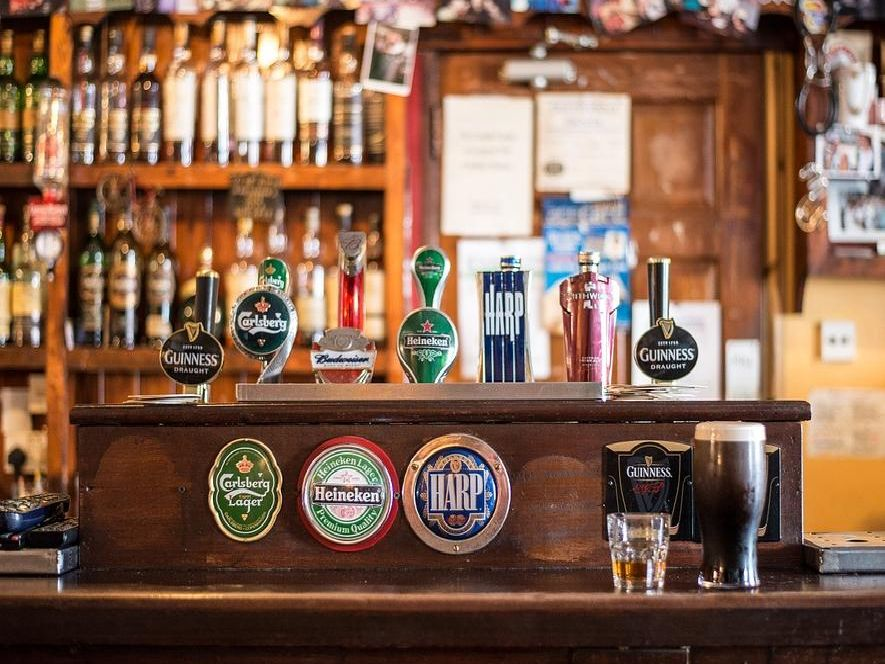 Many traditional pubs have disappeared.