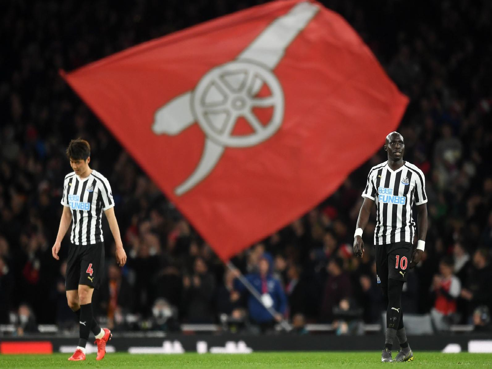 Our Newcastle United writer Miles Starforth has dished out his player ratings following the game at the Emirates - scroll down to see how each player performed: