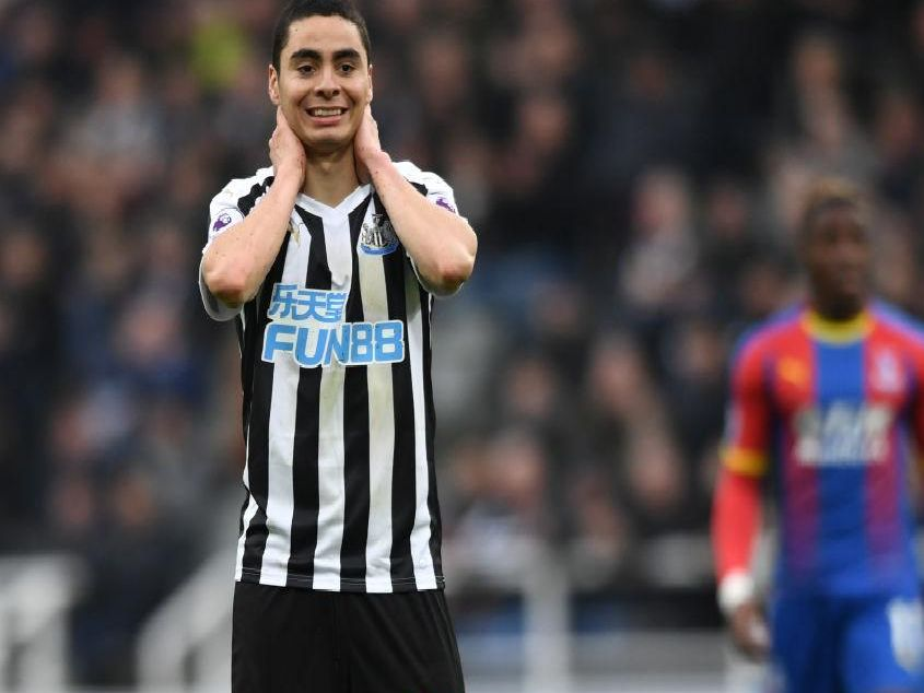 Newcastle United lost their first home game since January after a 1-0 defeat to Crystal Palace.