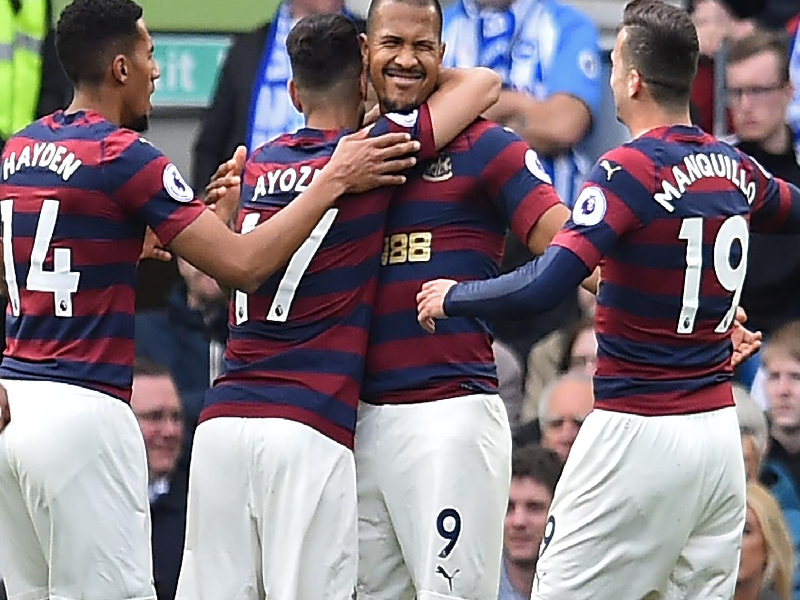 How Newcastle United's players rated at Brighton & Hove Albion
