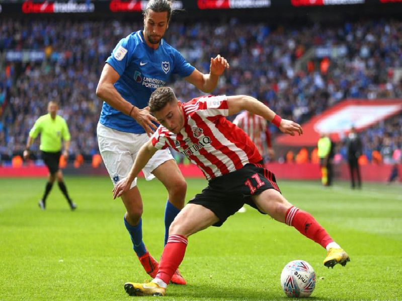Portsmouth defender Christian Burgess is feeling confident ahead of the play-offs.