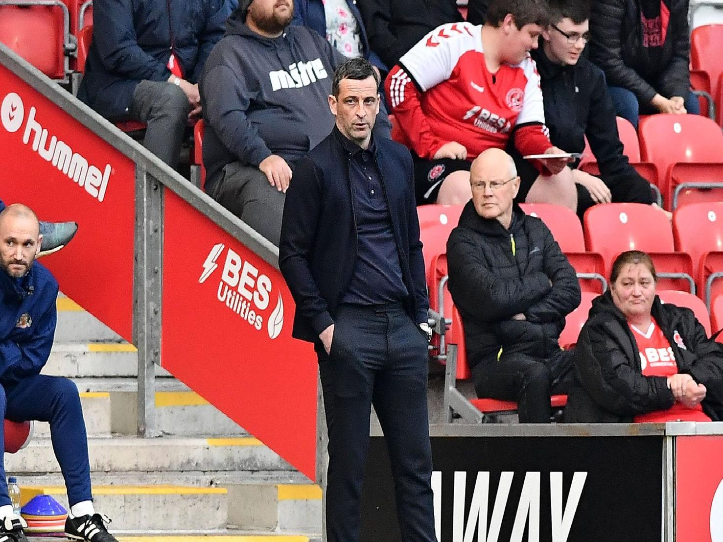 Jack Ross has offered some key updates ahead of Sunderland's clash with Portsmouth