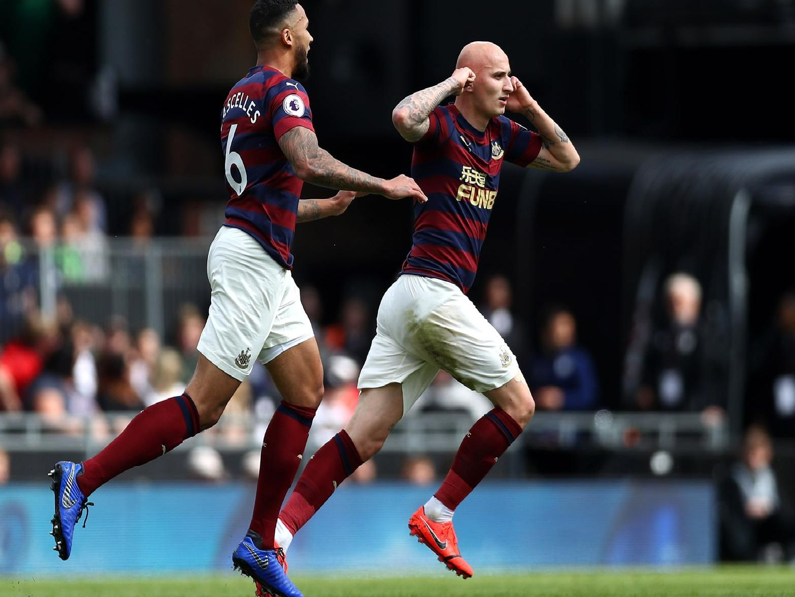 Jonjo Shelvey put in a 'stunning' display for Newcastle at Fulham