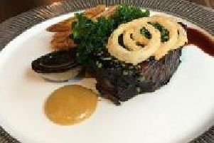 Sticky Beef Cheek at the Palm Court