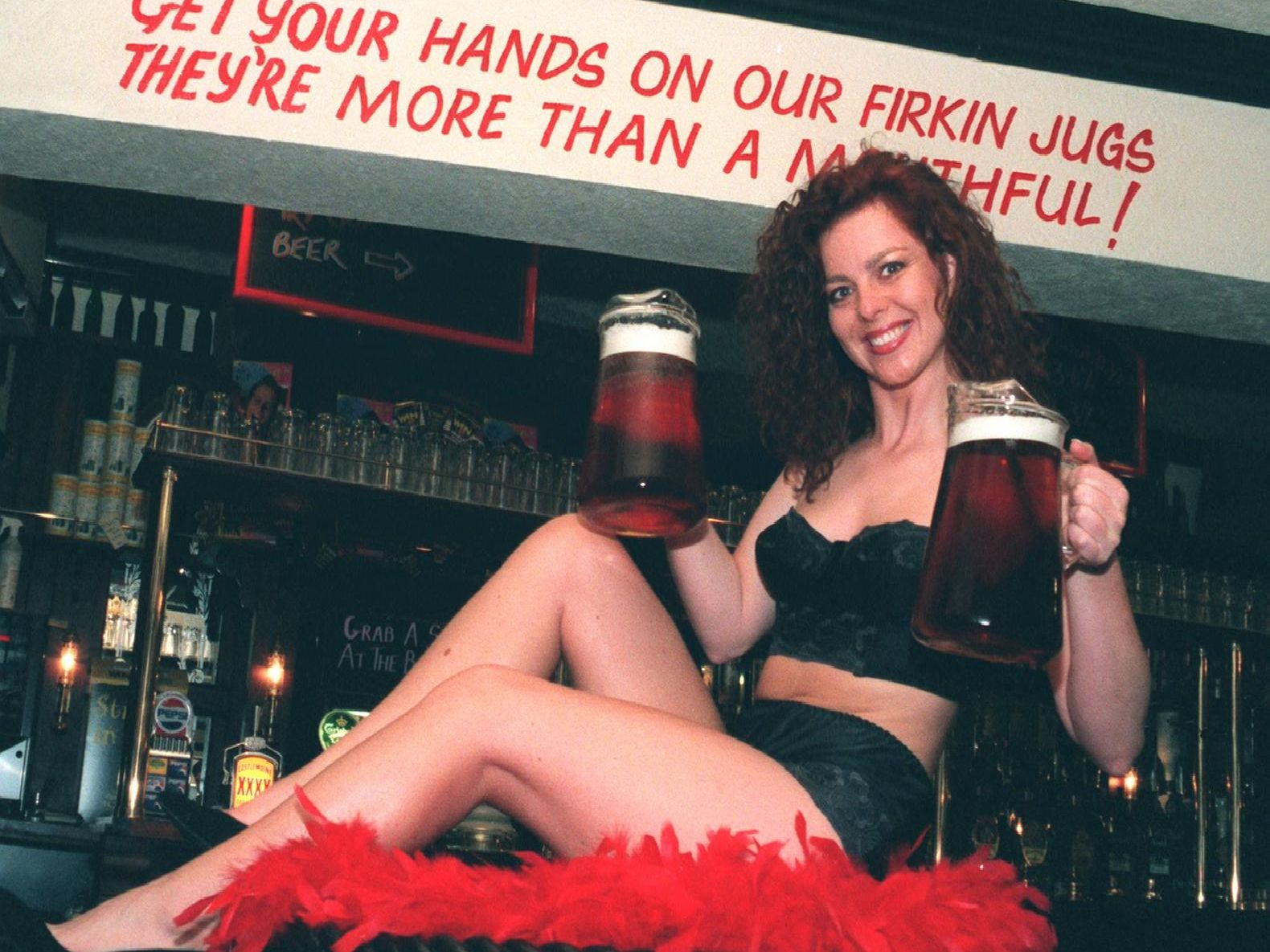 This Sheffield pub used some rather risque slogans (and gimmicks) to draw in drinkers.