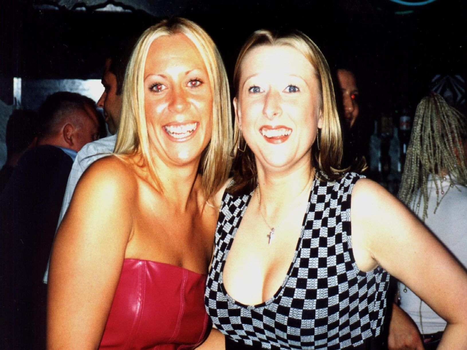Party time at Karisma in 1999.