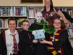 Thursday, February 6 will see the return of Harry Potter Book Night at Newton-le-Willows library