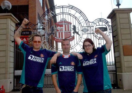 Launch of the new Sundereland away kit at the new SAFC Store at the Stadium  of e49660438b5f