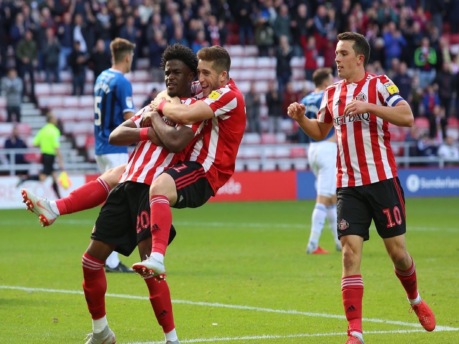 Josh Maja doesn't have to look far for Sunderland guidance