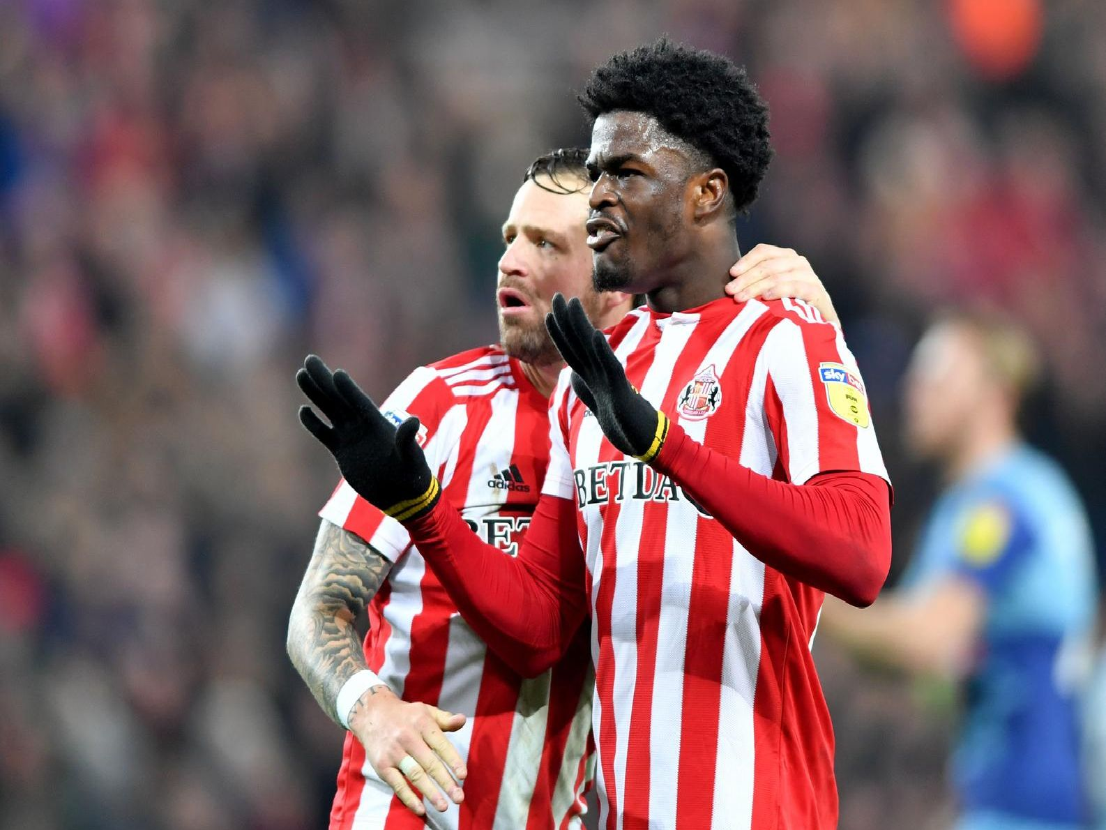 Maja made a blistering start to the season scoring in each of Sunderland's first four league games.'In total, the teenager has been involved in 12 of the Black Cats' 33 goals (10 goals and two assists) in League One this campaign (36.4 per cent).'His goals have come at crucial times too, with four coming when Sunderland were 1-0 down.'Maja has also opened the scoring on three occasions this season - against Rochdale, Peterborough and Bradford.