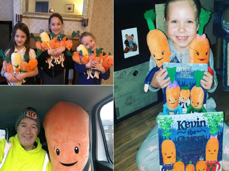 Thank you to everyone who shared a Kevin the Carrot picture.