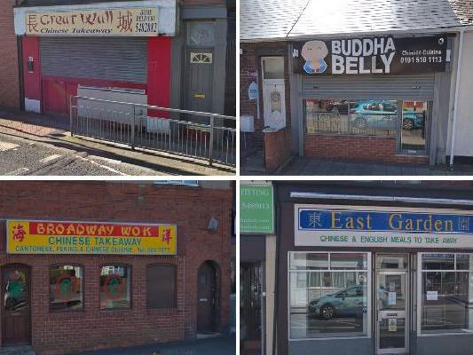 These 15 restaurants are rated as the very best in Sunderland for Chinese food