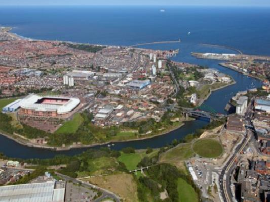 These are the 17 areas of Sunderland which have been identified as most at risk of surface water flooding