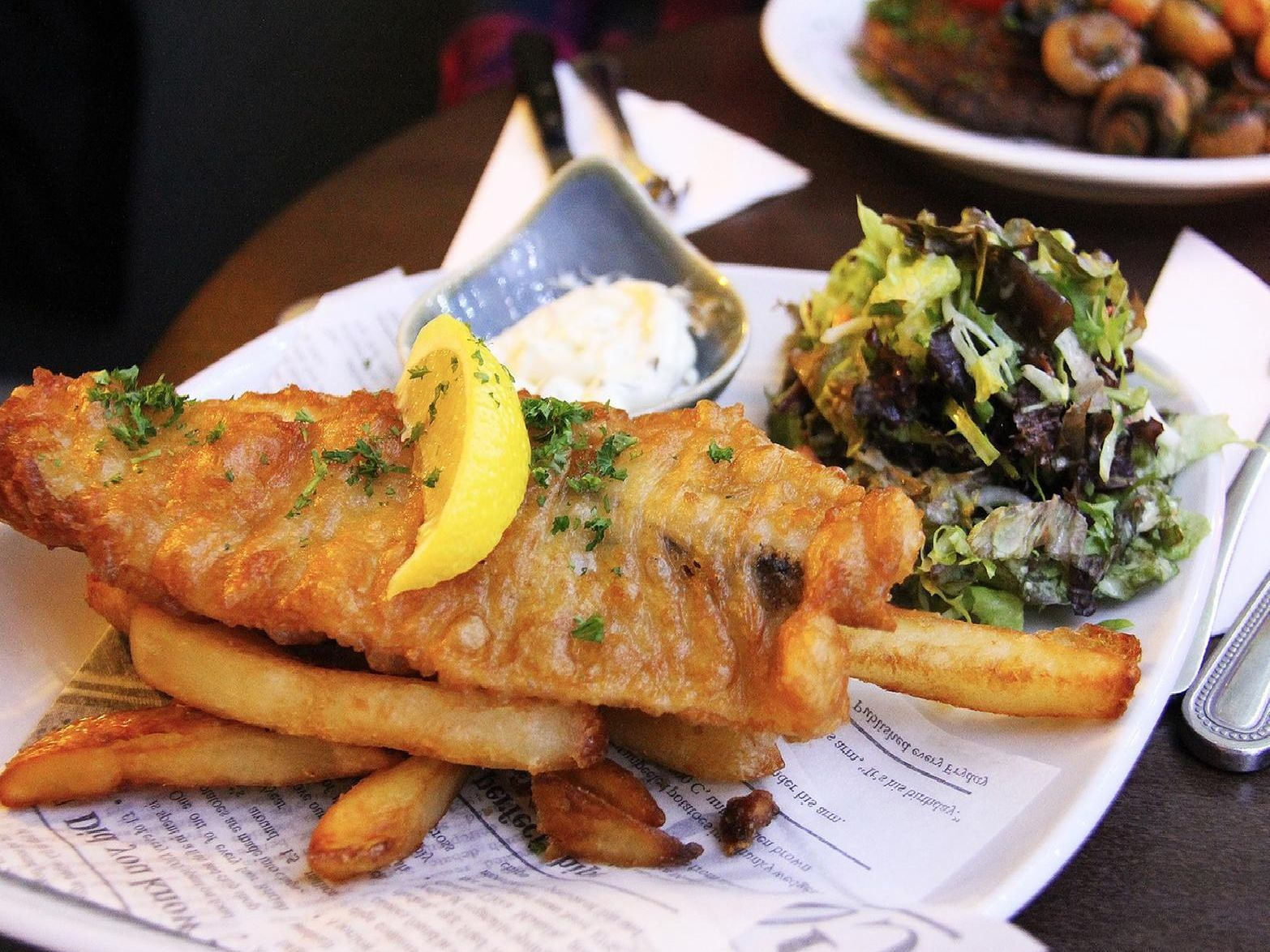 Fish and chips. Picture by Pixabay