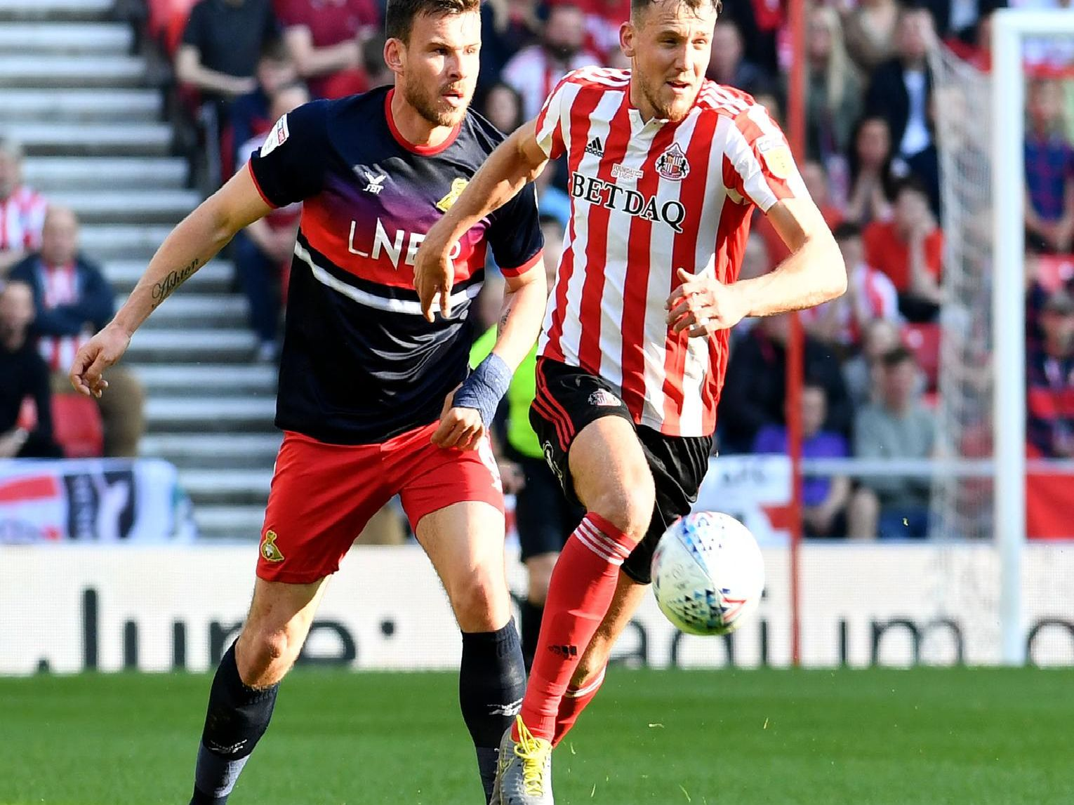 Charlie Wyke impressed against Doncaster at the Stadium of Light.