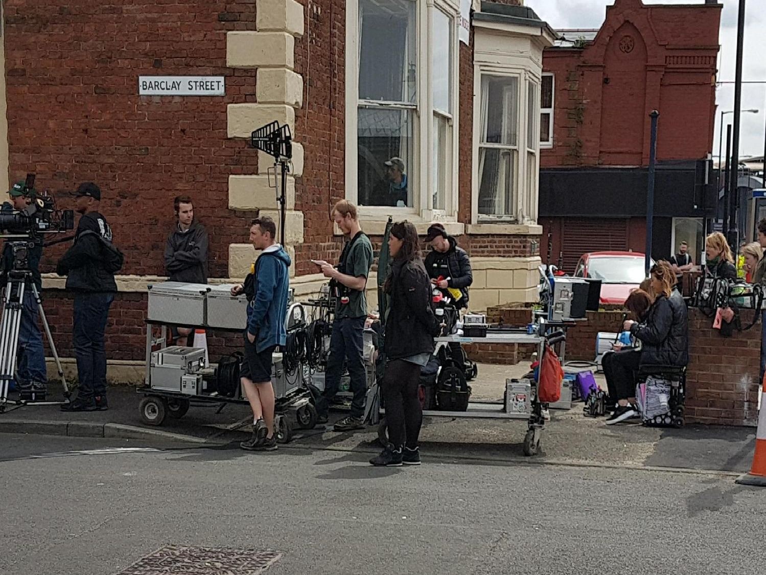 Vera filming takes place in Howick Park, Monkwearmouth.