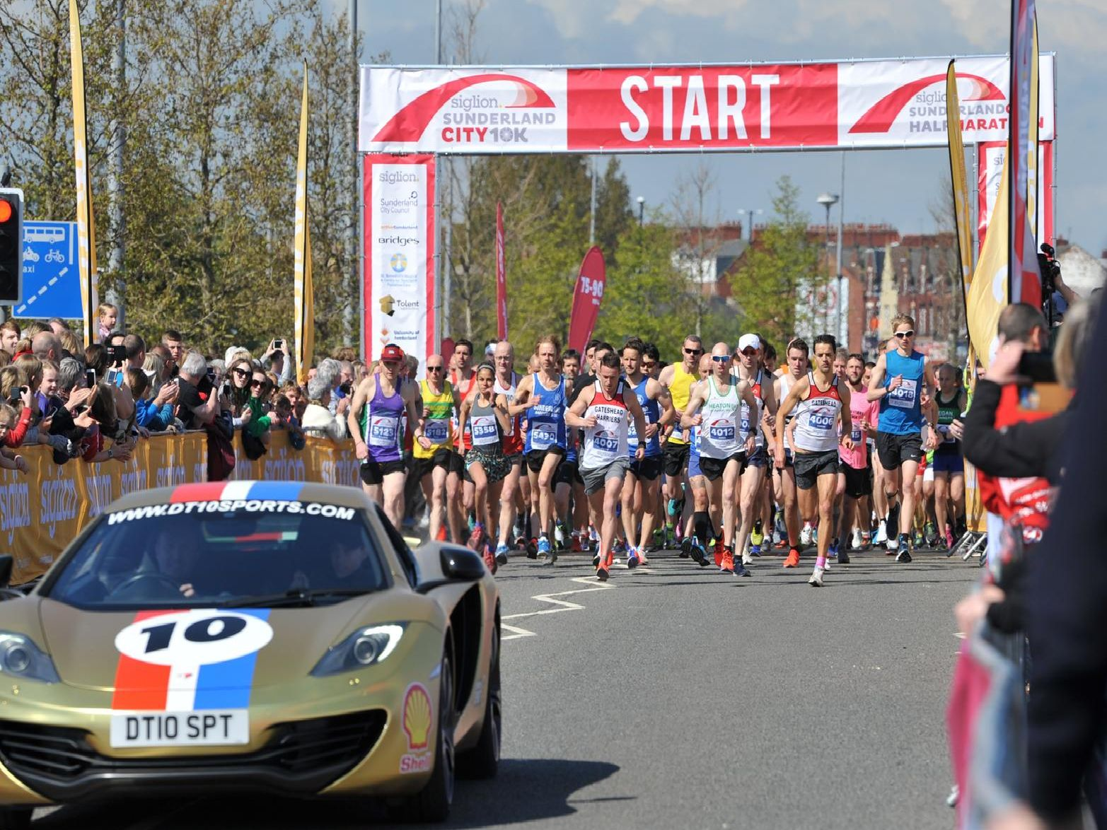 The half-marathon was part of the Run Sunderland Festival, sponsored by Siglion.