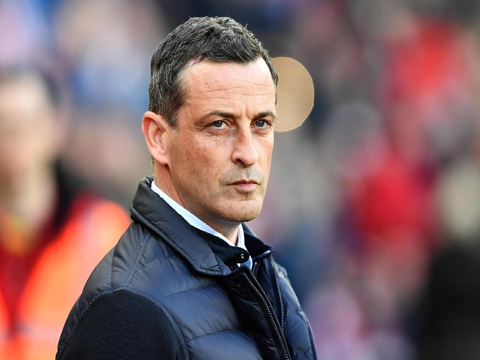 Sunderland will take a 1-0 lead into the second leg of their League One play-off semi-final against Portsmouth.