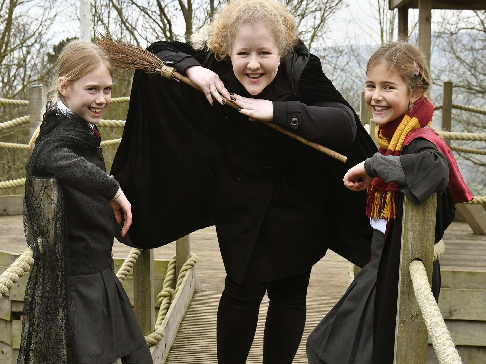 Youngsters enjoy Harry Potter-themed learning