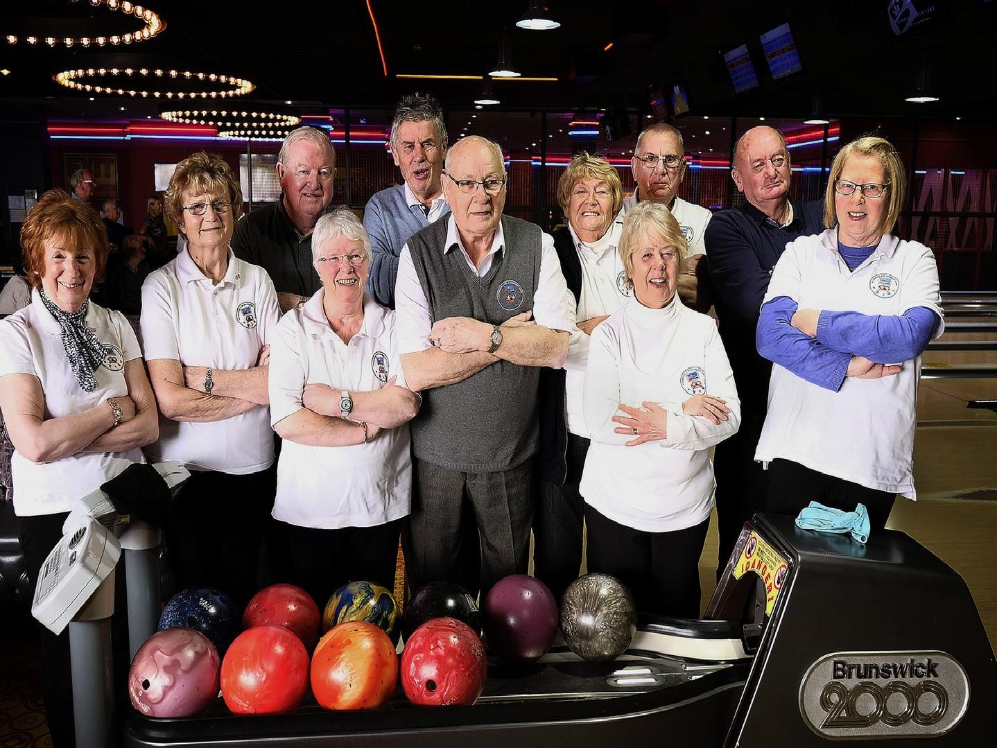 Scarborough Reds Over-50s Bowling Team