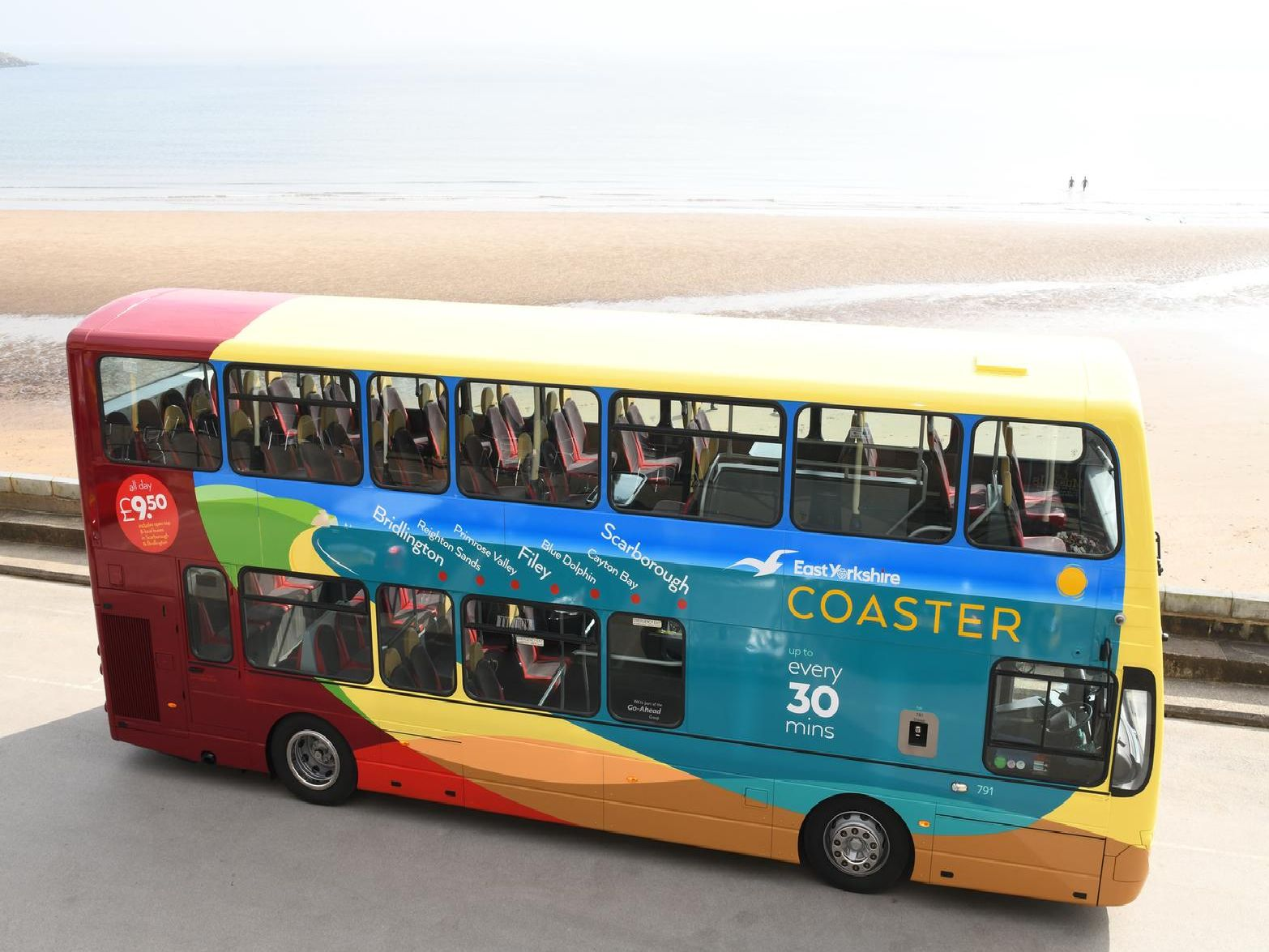 The new look buses were revealed this week.