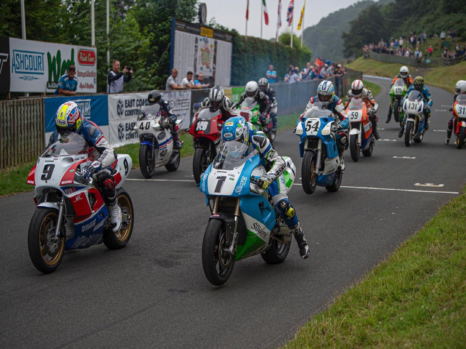 Racing returns to Oliver's Mount / Picture by John Margetts