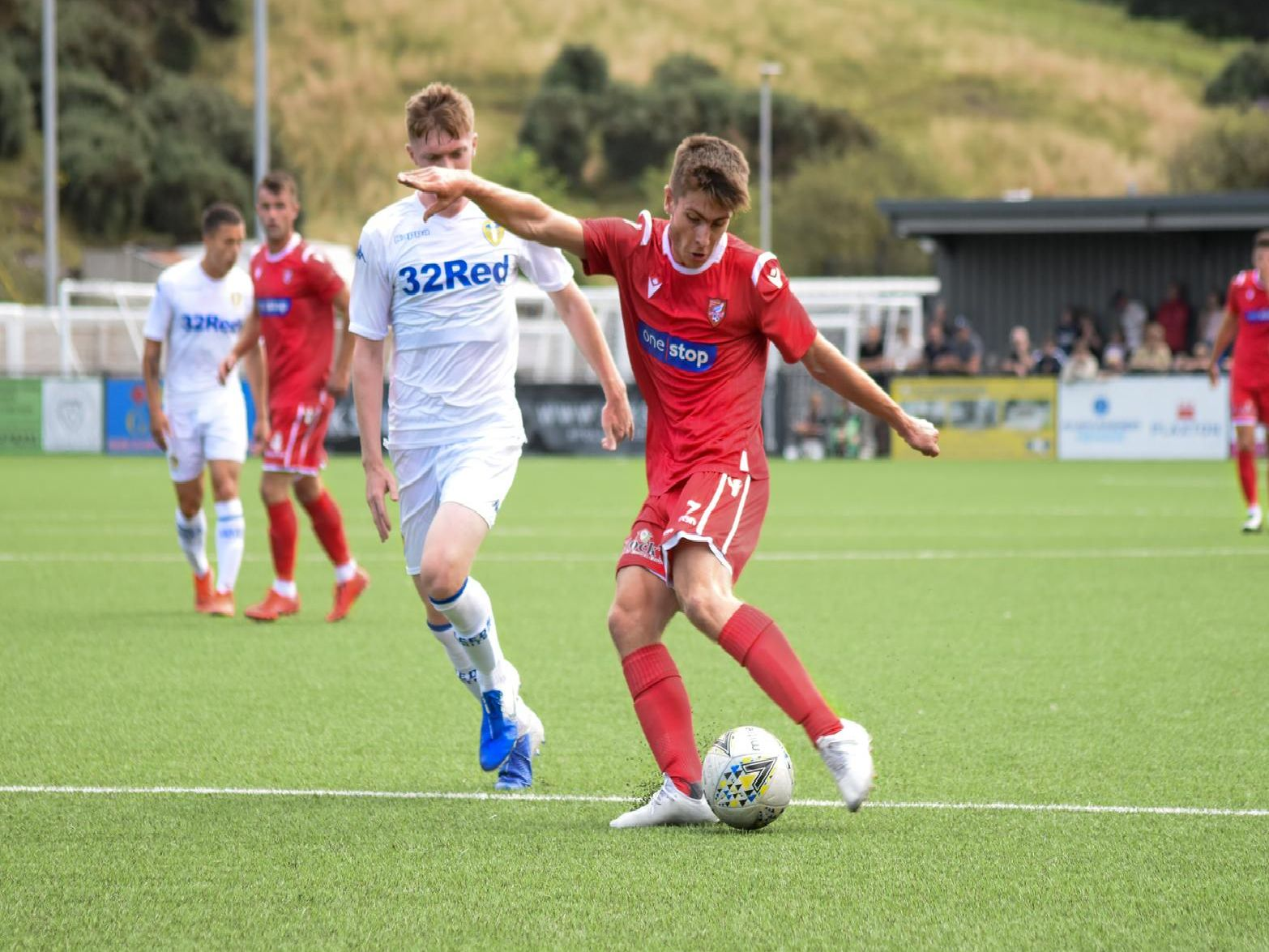 Scarborough Athletic 2-3 Leeds United / Pictures by Morgan Exley