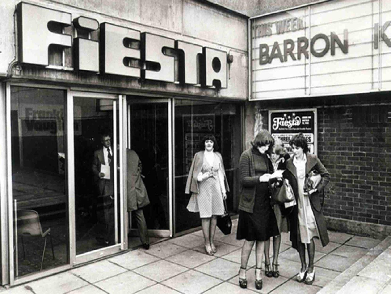 Fiesta on Arundel Gate attracted a host of big name stars in its 70s heyday. It is now the Odeon.