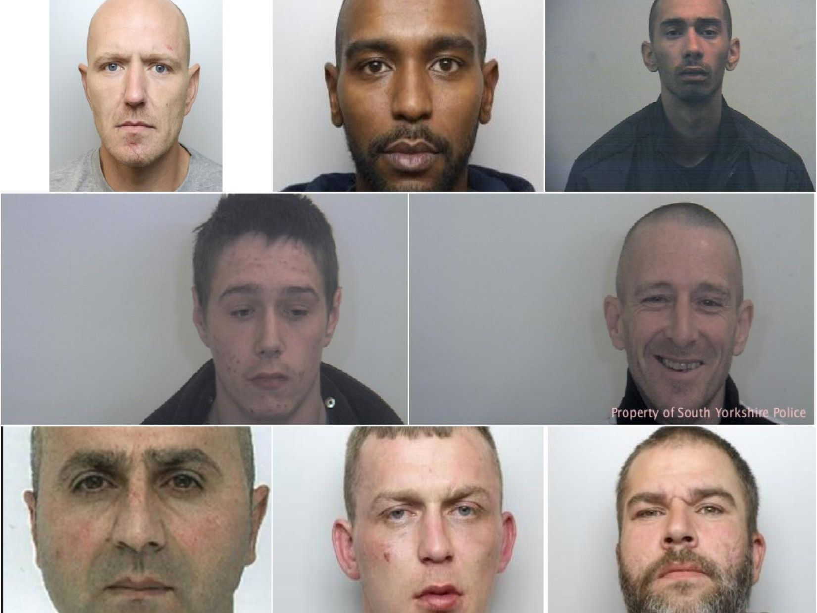 Men wanted by South Yorkshire Police