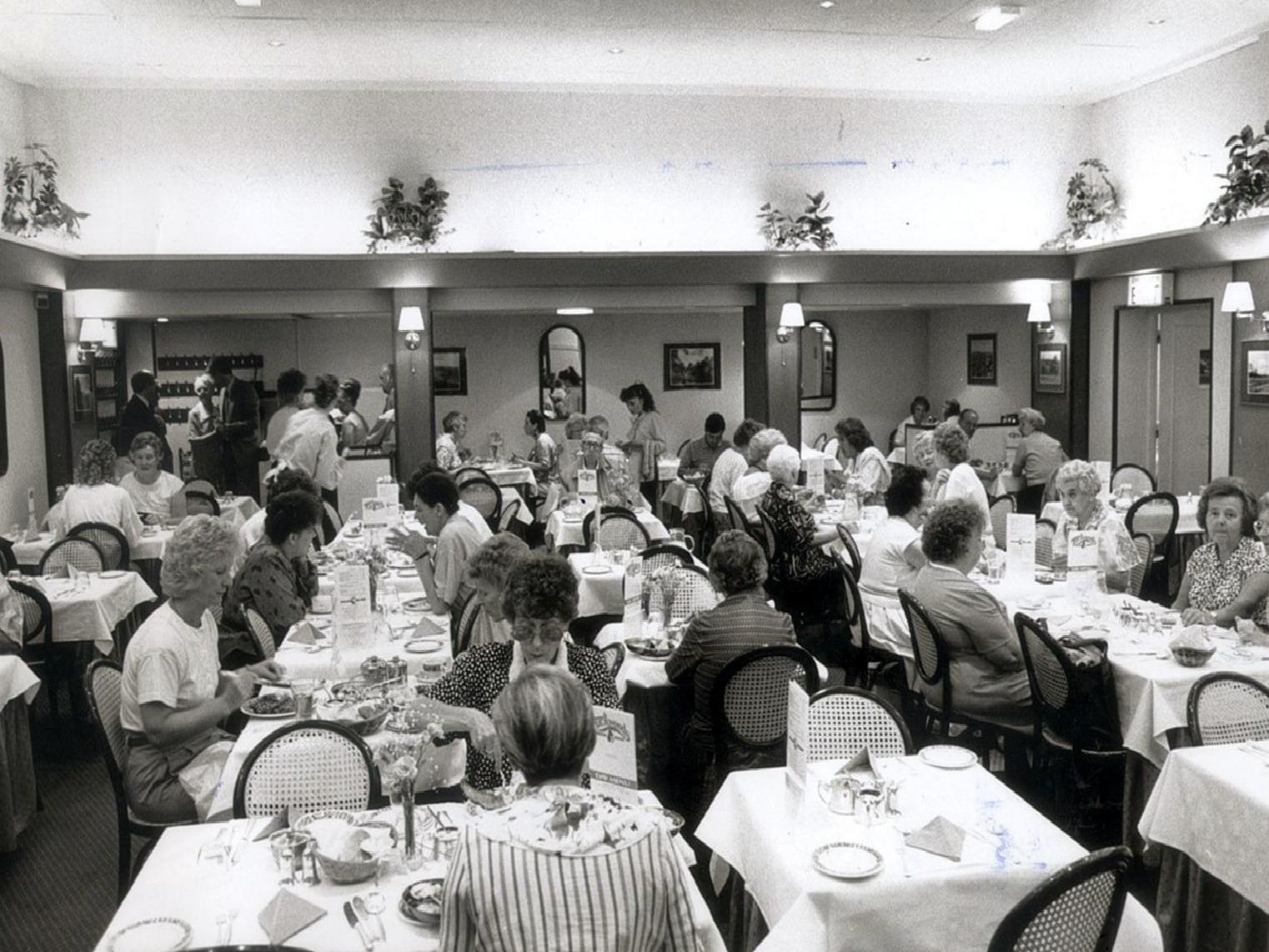 Tuckwoods was one of the city's most popular restaurants and was always packed with diners.