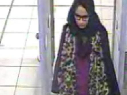 Shamima Begum when she left the UK at the age of 15. Pic: Met Police
