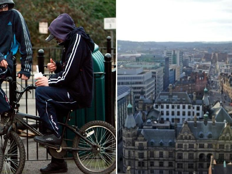 The latest figures so anti-social behaviour rates in Sheffield