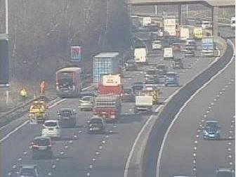 The incident on the M1.