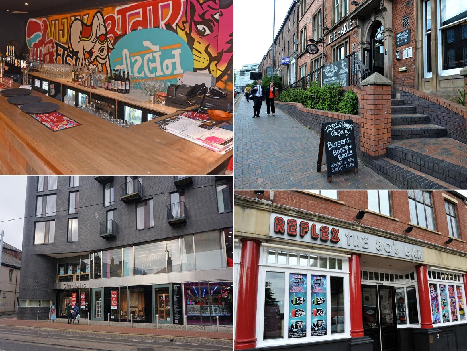 Closed businesses in Sheffield