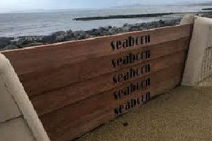 Morecambe Prom 'storm boards' deployed to guard against wind, rain and tides