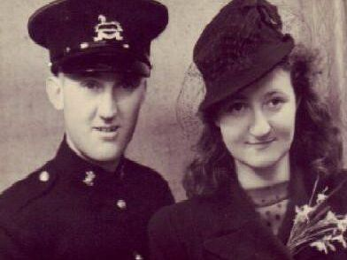 Philip met and married his wife Betty during the Second World War, and the couple celebrated their platinum wedding anniversary in 2013. (s)