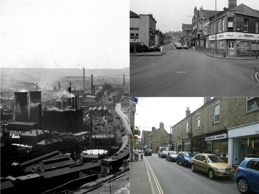 How have Calderdale's towns and villages changed over the years?