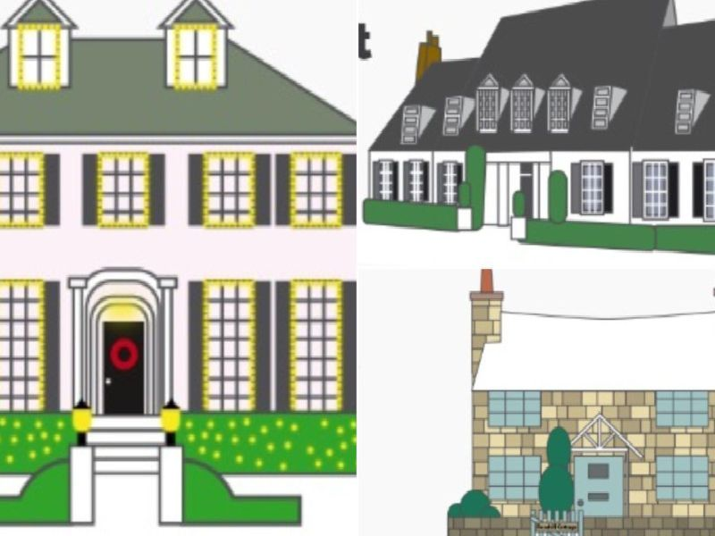 Here's how much would these 10 famous Christmas TV houses would set you back today
