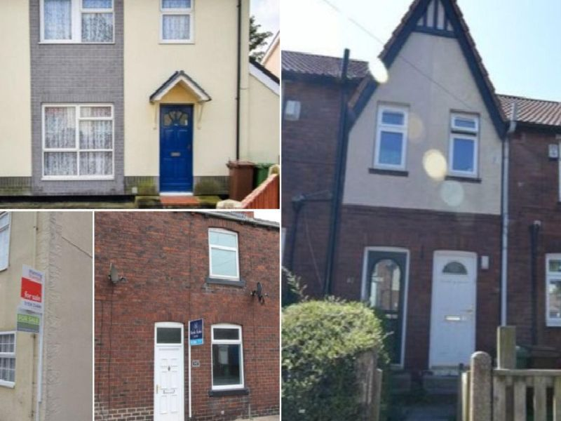 Houses across Wakefield for sale for 100K and under.