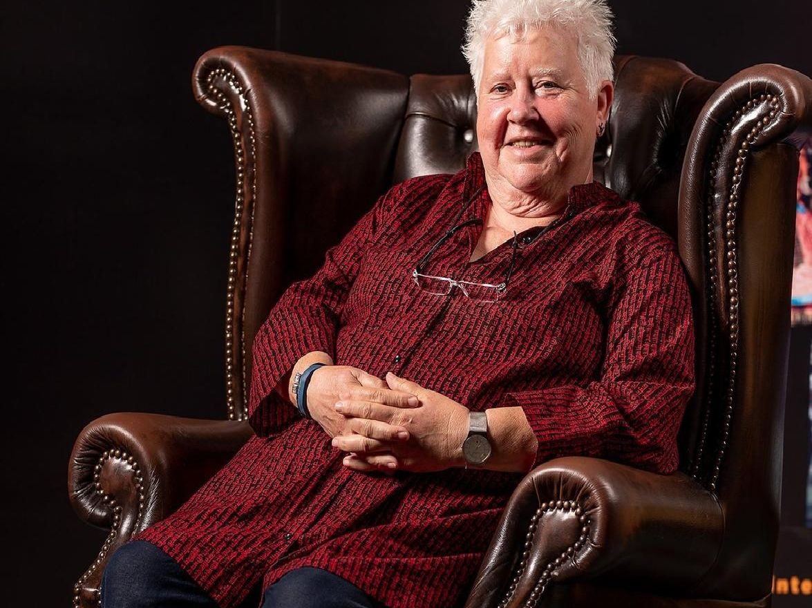 Co-founder of Theakston Old Peculier Crime Festival and best selling author Val McDermid