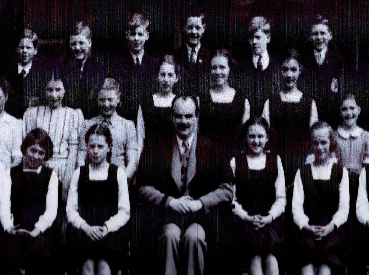 Osset Grammer School, 1949. Photo provided by Colin Wiper.