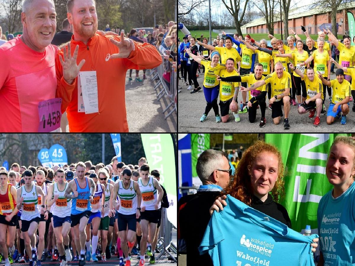 Can you spot anyone you know in these photos from the Wakefield Hospice 10k 2019?
